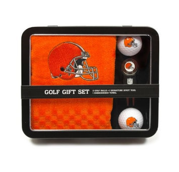 Team Golf Cleveland Browns Golf Towel Gift Set