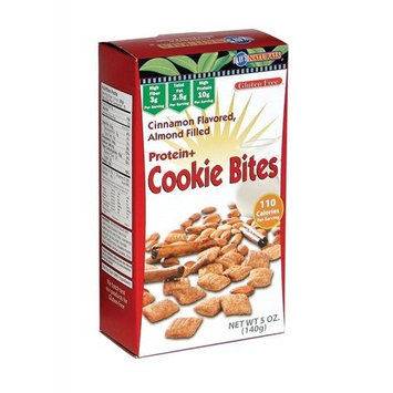 Kay's Naturals Cookie Bites, Cinnamon, 5-Ounce Boxes (Pack of 12)