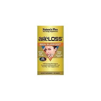 Nature's Plus. Ageloss Skin Support. 90 Tabs. (4 Pack)