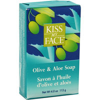 Kiss My Face Corp. Kiss My Face Bar Soap Olive and Aloe 4 oz
