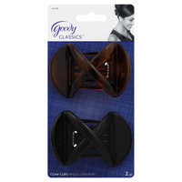 Goody Classics X Updo Claw Clips, 2 CT