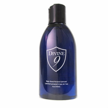 Divine 9 Water-Based Personal Lubricant, 4 oz