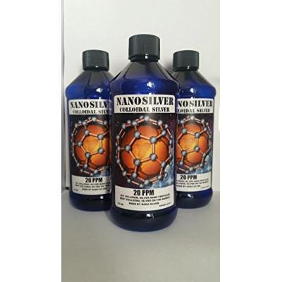 THE Best Nano Colloidal Silver - 16 Oz -20 PPM Colloidal Silver- 50% Sale!! - Immune System Booster - Silver Mineral Supplement - Colloidal Silver Liquid