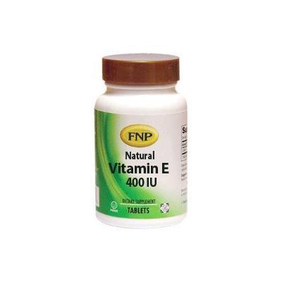 Freeda FNP Natural Vitamin E 400 IU - 90 Tablets