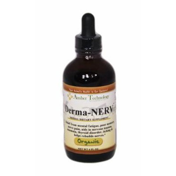 Derma NERV 4oz - An herbal supplement designed to help animals overcome some nerve damage, hyperactivity, and incontinence.