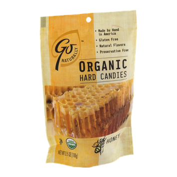 Go Naturally Organic Hard Candies Honey