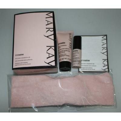 Mary Kay Timewise Mini Even Complexion Set Mask with Pink Headband ~ New!