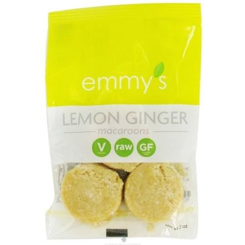 Emmy's Organics Lemon Ginger Macaroons - 2 oz