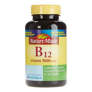 Nature Made Vitamin B12 1,000 mcg, 400 Softgels