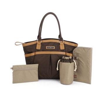 Perry Mackin Harper Tote Diaper Bag - Brown