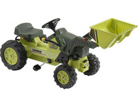 Kalee Pedal Tractor with Loader in Green