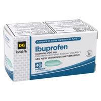 DG Health Ibuprofen Softgels - 40 ct
