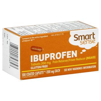 Kmart Corporation Smart Sense Ibuprofen, 200 mg, Coated Caplets 100 caplets