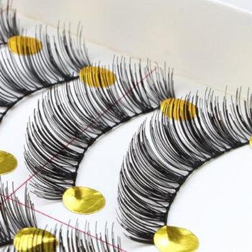 AGPtek 10 Pairs Natural Long Soft Thick Handmade False Eyelashes