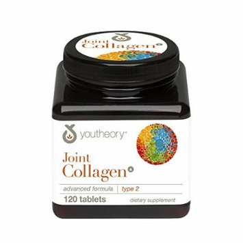 Youtheory Joint Collagen Advanced Nutritional Supplement Type 2, 120 Count