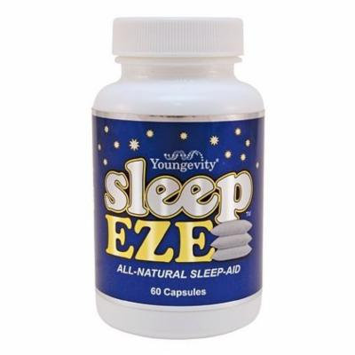 (INTERNATIONAL SHIPPING) Sleep Eze 60 Capsules Youngevity Natural Sleep Aid With Melatonin & Valerian