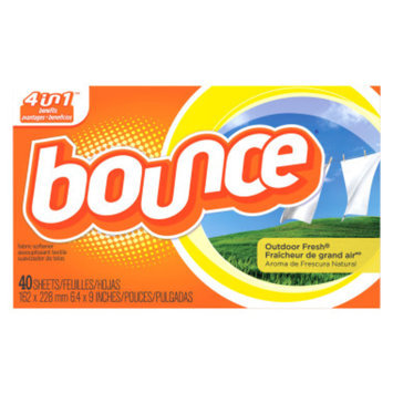 Bounce Fabric Softener Sheets - Outdoor Fresh, 34 ct