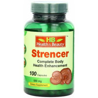 Health & Beauty Strencer Capsules, 100 Count