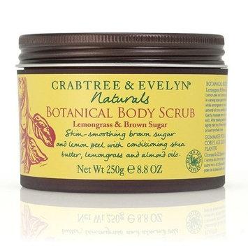 Crabtree Eveleyn Crabtree & Evelyn Naturals Botanical Body Scrub - Lemongrass & Brown Sugar - 8.8 oz / 250 g