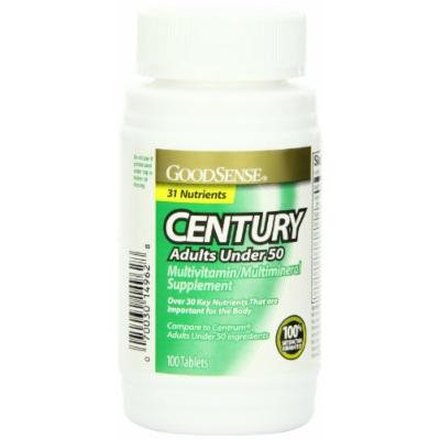 GoodSense CENTURY Multivitamin/Multimineral Supplement tablets,100-Count