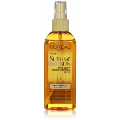 L'Oréal Paris New Sublime Sun 30 SPF Sheer Protect Sunscreen Oil