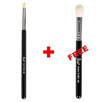 Bundle - Petal Beauty Pencil makeup Brush + FREE $9 Value Eye Blending Brush (Black)