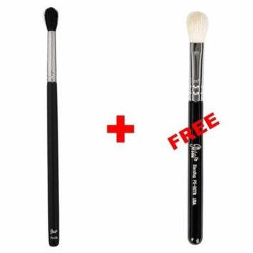Bundle - Petal Beauty Round Tip Tapered Blending makeup Brush + FREE $9 Value Blending Brush (Matte)