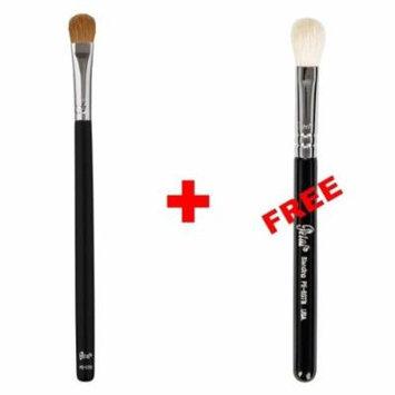 Bundle - Petal Beauty Large Shader makeup Brush + FREE $9 Value Eye Blending Brush (Matte)