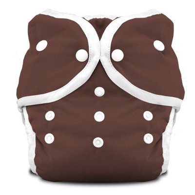 Thirsties Duo Diaper Snap, Mud, Size One (6-18 lbs) (Discontinued by Manufacturer)