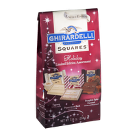 Ghirardelli Chocolate Squares Holiday Limited Addition Assortment