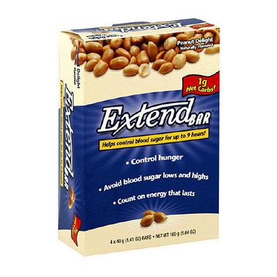 ExtendBar Peanut Delight Snack Bars