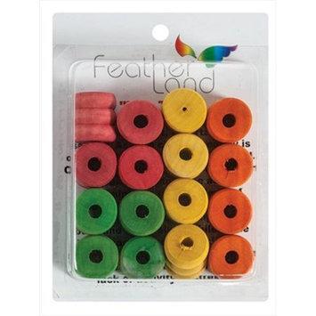 Caitec Bird Toys Caitec 569 1 1/8 in. x 1 1/8 in. Honey Dip Spools - Pack of 16