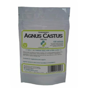 Agnus Castus 100 x 1000mg tablets (vitex)