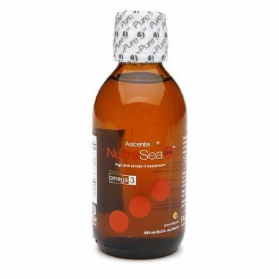 Ascenta NutraSea DHA High DHA Omega 3 Supplement, Citrus 6.8 fl oz (200 ml)
