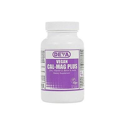 Deva Vegan Vitamins Cal-Mag Plus, Tablets 90 ea