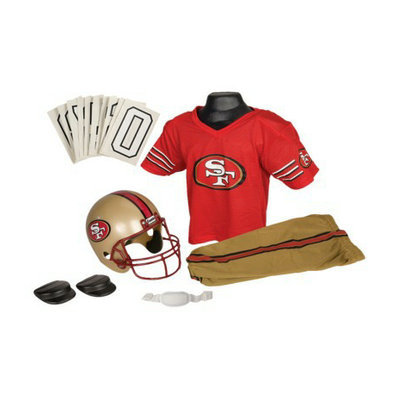 Franklin Sports NFL 49Ers Deluxe Uniform Set - Small