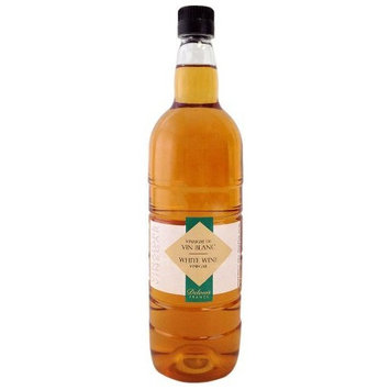Delouis France (Plastic Bottle) White Wine Vinegar 6%, 33-Ounce Bottles (Pack of 6)