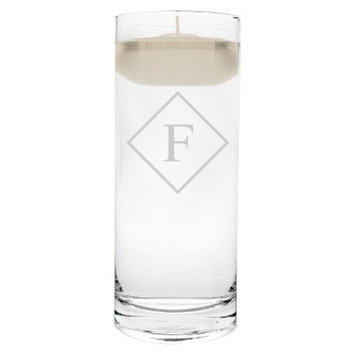 Cathy's Concepts Diamond Initial Floating Unity Candle F