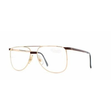 Missoni 405 731 Gold and Red Authentic Men - Women Vintage Eyeglasses Frame