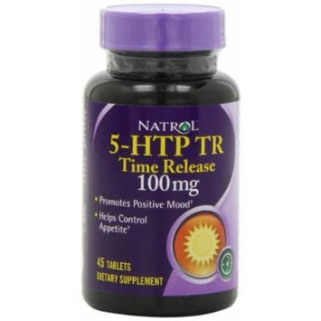 NATROL 5-HTP TR - Time Release (100mg) 45 tabs