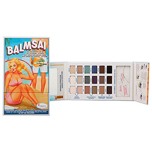 Thebalm the Balm Balmsai Eyeshadow & Brow Palette With Shaping Stencils