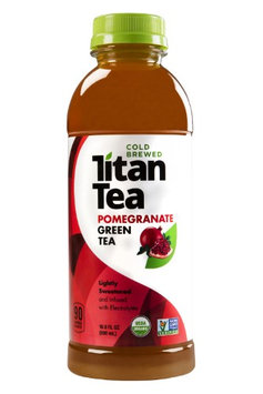 Titan Tea TEA, GREEN, POMEGRANATE, (Pack of 12)