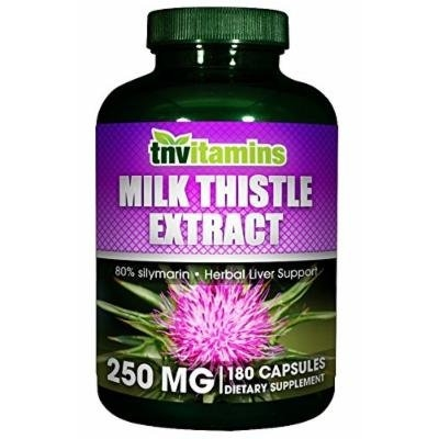 Milk Thistle Extract 250 Mg Standardized Extract - 180 Capsules