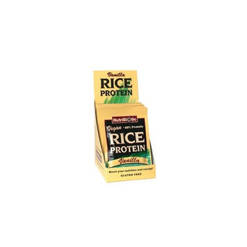 Nutribiotic Vegan Rice Protein Vanilla, 12/.53 oz. Pkts