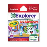 LeapFrog Enterprises Inc. LeapFrog Explorer Learning Game: Crayola Art Adventure