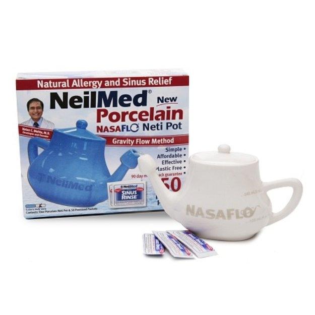 NeilMed Porcelain Neti Pot