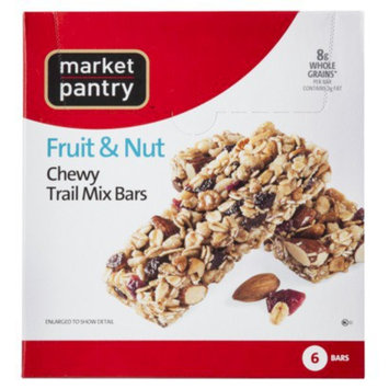 Market Pantry Fruit & Nut Trail Mix Chewy Granola Bars 6-pk.