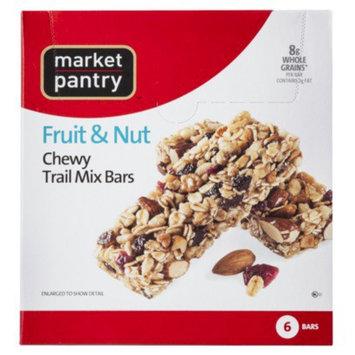 Market Pantry Fruit & Nut Trail Mix Chewy Granola Bars 6-pk.