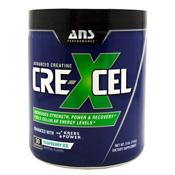 ANS Performance Crexcel, Raspberry Ice, 30 Servings