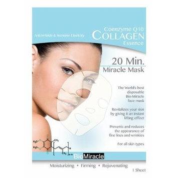 BioMiracle 20 Min. Rejuvenating Miracle Mask - Coenzyme Q10: Anti-Wrinkle & Increase Elasticity (Single Sheet)